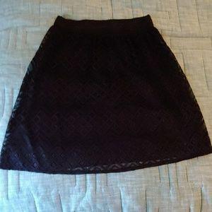 Lined lace skirt BOGO ITEM